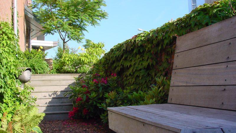 verborgen tuin bij bijzondere woning