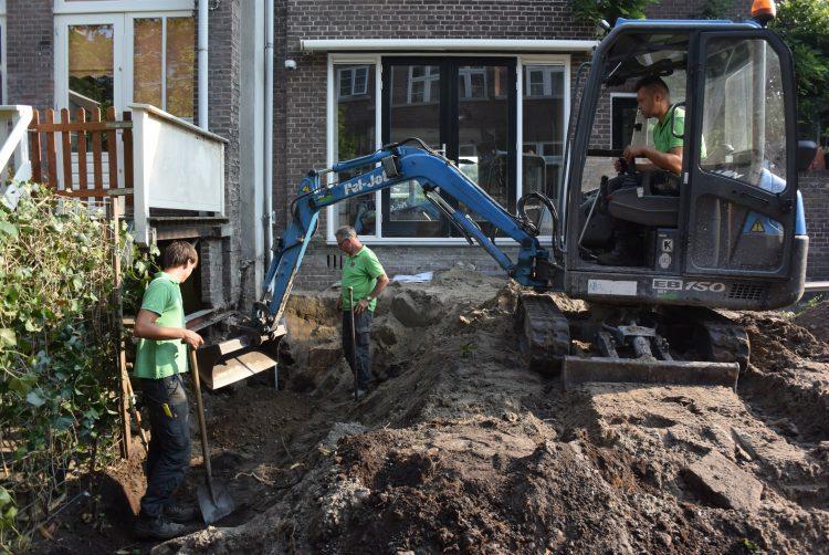 aanleg tuin Rotterdam