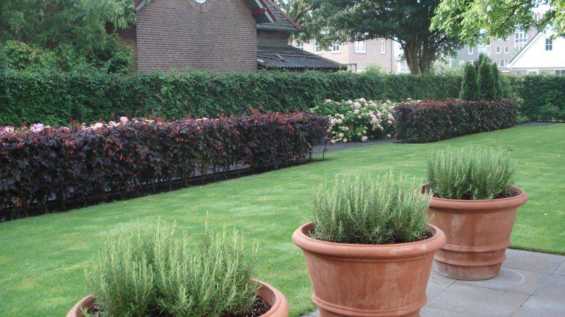 Landelijk gelegen tuin te Smitshoek (Barendrecht)