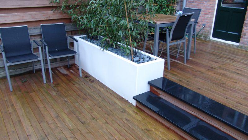 Buitenparket Rotterdam Centrum – aanleg tuin & terras