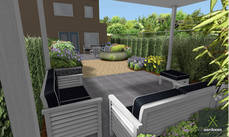 3D Tuinontwerp, een virtuele tuinwandeling met Aardoom Hoveniers