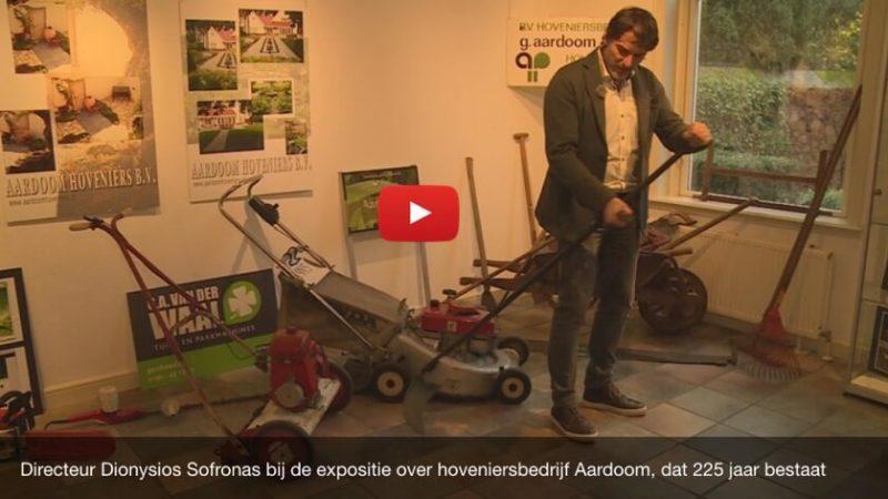 Dit hoveniersbedrijf bestaat langer dan Nederland (Reportage RTV Rijnmond)