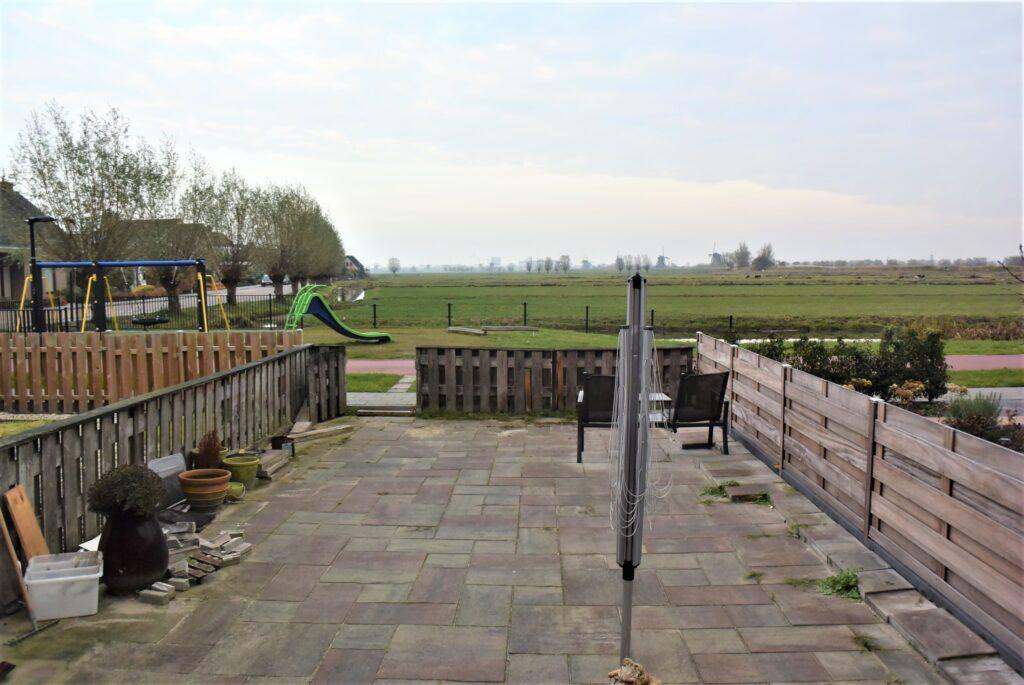 Alblasserdam particuliere tuin - oude situatie