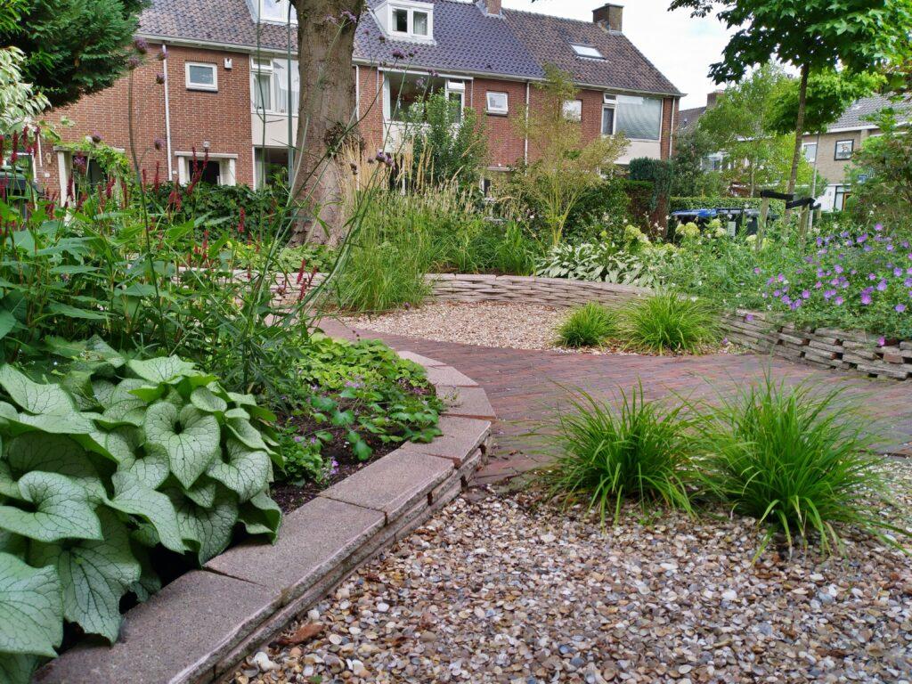 Dordrecht particuliere tuin - nieuwe situatie
